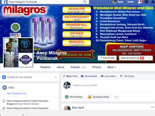 FACEBOOK : Facebook banyak peminatnya di Indonesia. Jadilah Polisi bagi diri anda sendiri.  Waspada dan Bijak dalam menggunakan facebook.  Gambar dari Internet