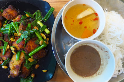 Uncle Ho Tuckshop, turmeric fish with dill