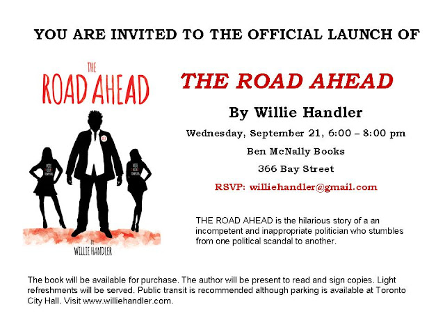 THE ROAD AHEAD Book Release
