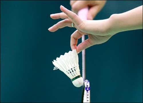 Nama Badminton di dapat dari Badminton House di Gloucestershire Inggris Sejarah Olahraga Bulu Tangkis (Badminton)