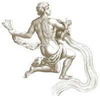 The Aquarian Water Bearer with his Water Jar (Kumbha)