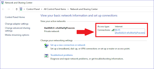 Change DNS server in Windows.