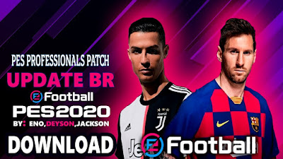 PES 2017 Professional Patch 2017 v5.3 Update BR + Europe Season 2019/2020