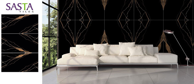 Black tiles floor design | Top Quality Black Tiles Design