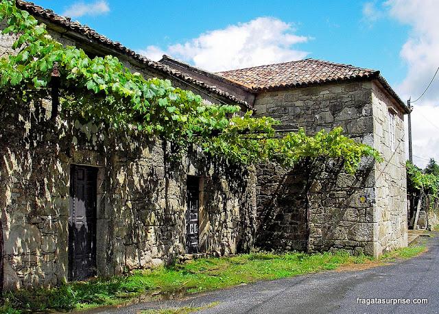 Caminho de Santiago, povoado de Faramello, Galícia