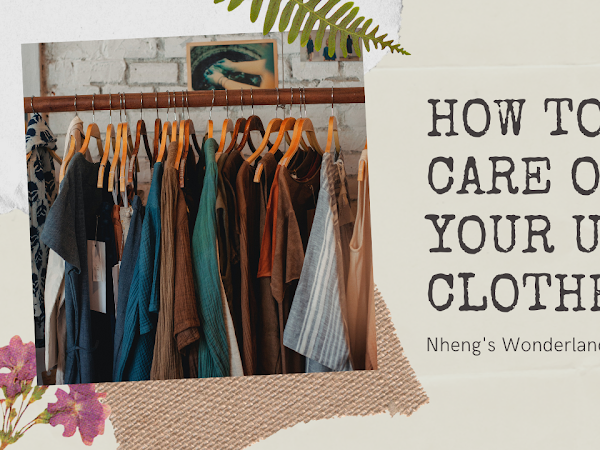 How To Take Care of Your Ukay Clothes