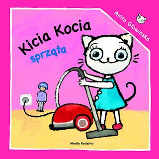 Książka o sprzątaniu edukacyjna dla dziecka