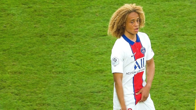 Xavi Simons Ex La Masia star makes debut for PSG first team