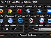 Menghemat RAM dan CPU Anda dengan software Momo Web Browser Optimize Memory pada waktu Membuka Browser