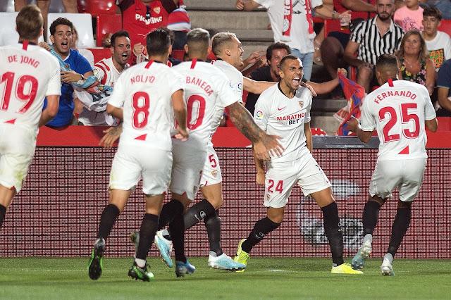dorsales Sevilla FC 2019 2020 LaLiga