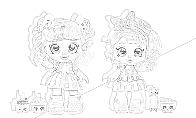 The Holiday Site: Coloring Pages Of Kindi Kids Dolls Free