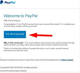 create paypal account without credit card