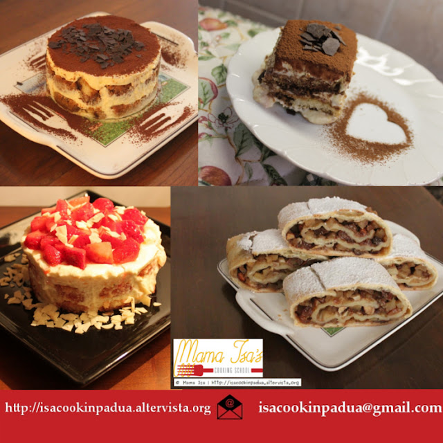 Mama Isa's Cooking School in Italy Venice - Pastry and Dessert Cooking Classes