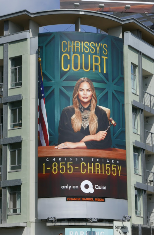 Chrissys Court series premiere billboard