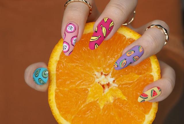 Kolorowe owocowe