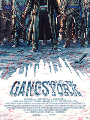 Gangs of New York Movie Poster Screen Print by Lee Bermejo x Mondo