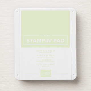 This image shows the Soft Sea Foam Classic Stampin' Pad by Stampin' Up!