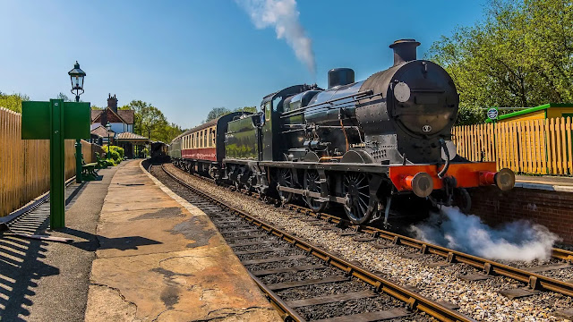 Blue Bell Railway west sussex england