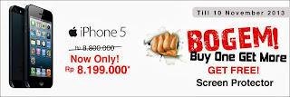 Buy One Get More Promo iPhone 5