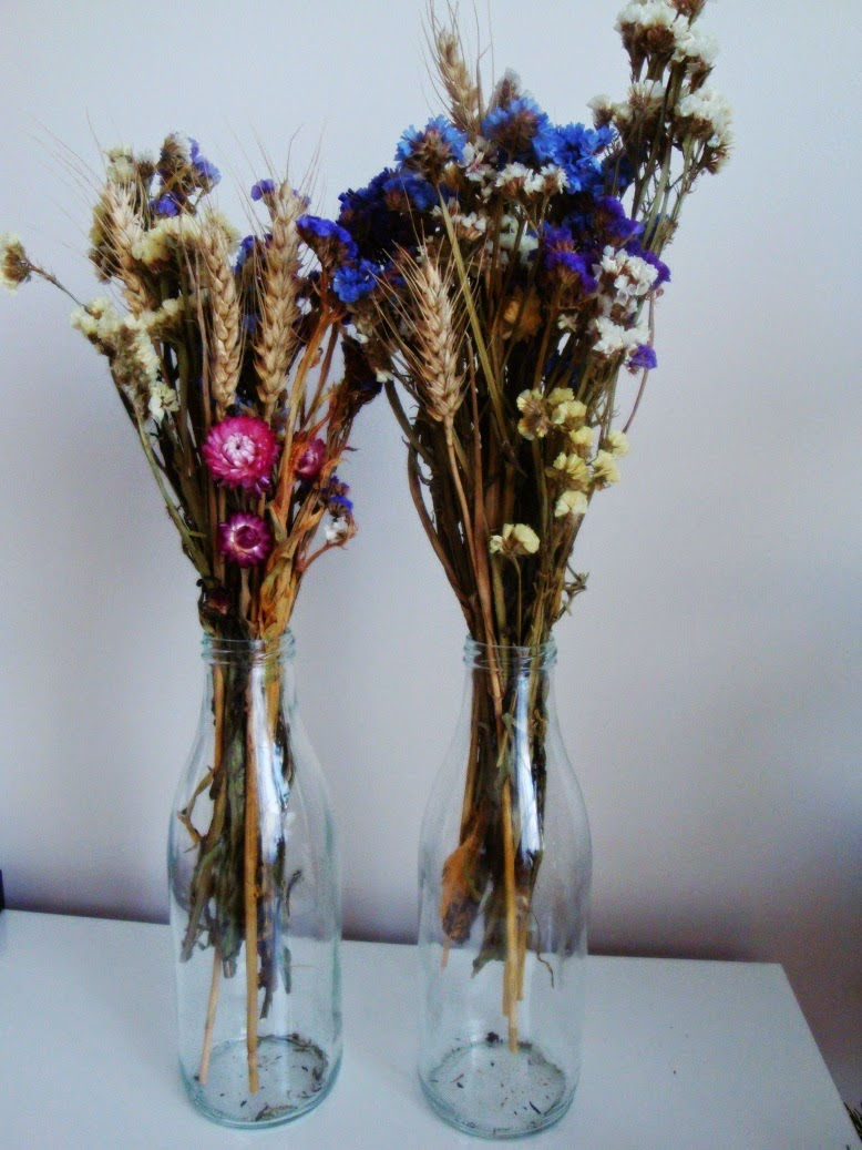 Linda By Marta Flores Y Floreros - Jarrones-con-flores-secas