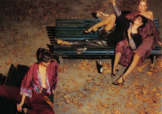 Chris von Wangenheim, photoshoot, Gia Carangi, Juli Foster