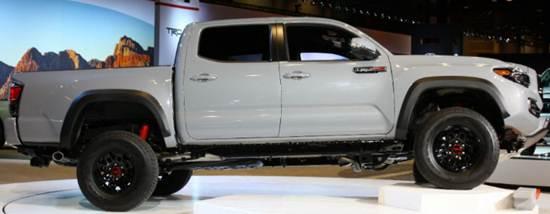 2017 Toyota Tacoma Fuel Economy  Feutures