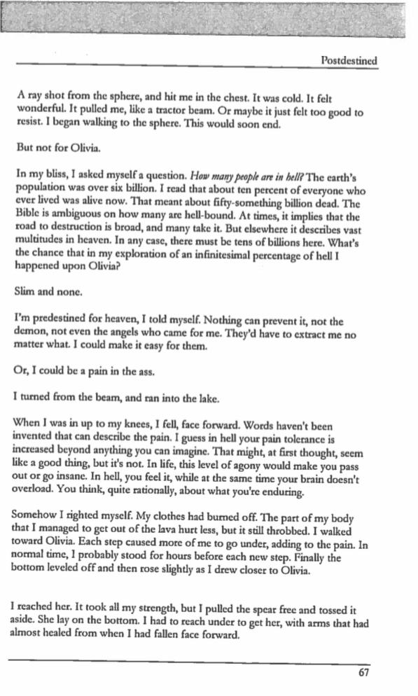 One book school 39 report note false clues