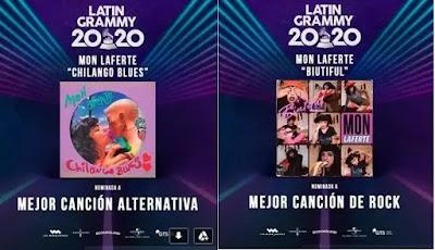 Mon Laferte es nominada en dos categorías de los Latin Grammy 2020