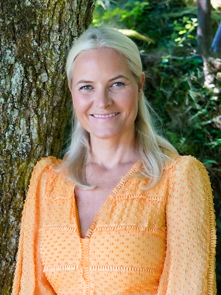 Crown Princess Mette-Marit talked about her tailbone fracture