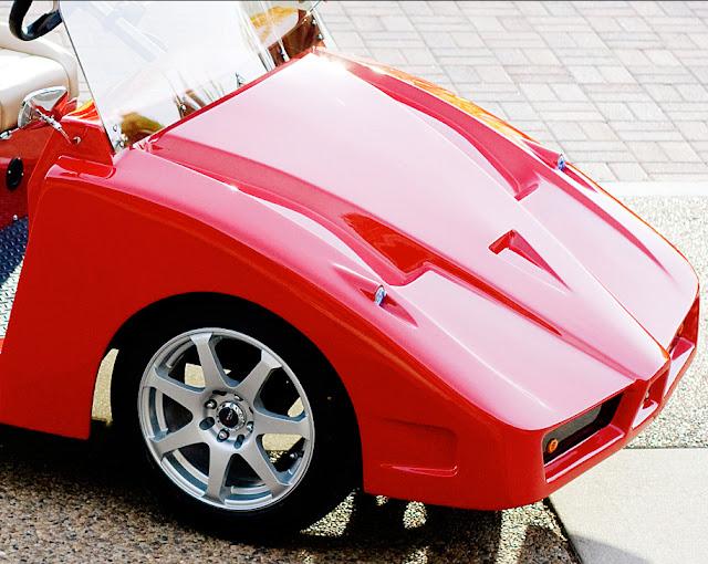 Ferrari enzo golf cart by Pennwick