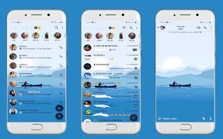 Alone Boat Theme For YOWhatsApp & Fouad WhatsApp By Leidiane
