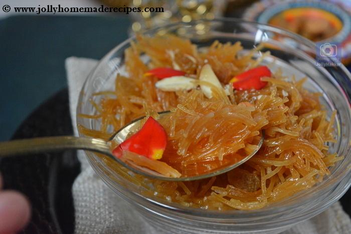 Dry Sweet Vermicelli Recipe