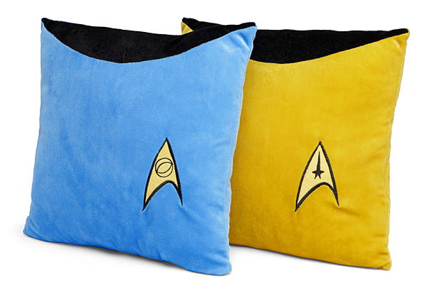 """Star Trek TOS /""""Engineering/"""" Double Sided Throw Pillow"""