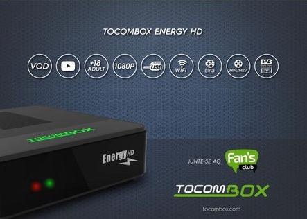 Resultado de imagem para TOCOMBOX ENERGY HD + WI-FI