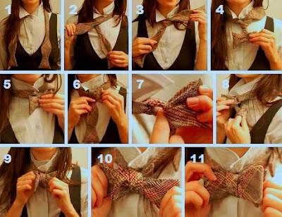 Como hacer un nudo de pajarita