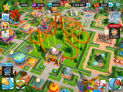 RollerCoaster Tycoon Touch Mod Apk Android