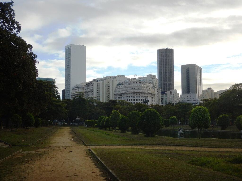 Correr na Praça Paris