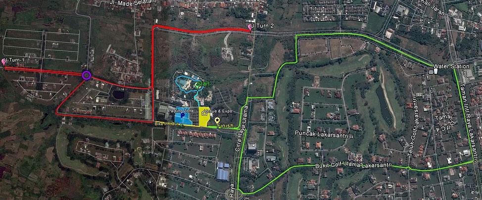 MapSurabaya Triathlon • 2020