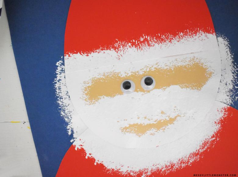 Easy Santa craft