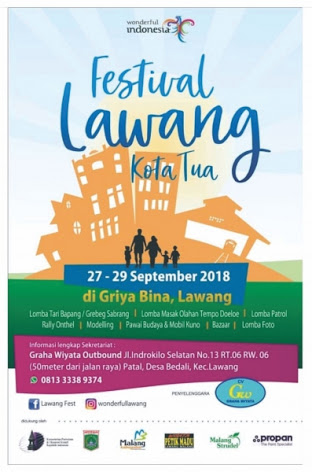 Festival Lawang Kota Tua Malang