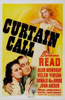 Watch Curtain Call (1940) Streaming Full Movie