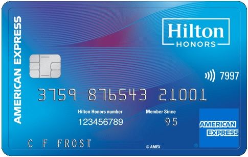 American Express Hilton Honors Card No Annual Fee Review [100,000 Hilton Honors Bonus Points + $100 Hilton Hotel Statement Credits & No Annual Fee]