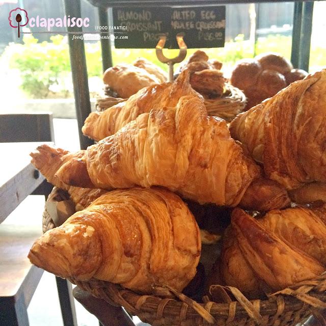 Plain Croissant from Wildflour Café + Bakery