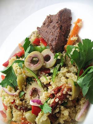 quinoa olive salad