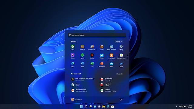 Windows 11'in Tema Arayüzü