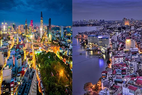 6 differences between Hanoi and Ho Chi Minh City in the eyes of visitors