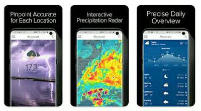 Aplikasi Ramalan Cuaca - MORECAST