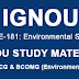 BEVAE - 181 Free Solved Assignment for B.COM IGNOU
