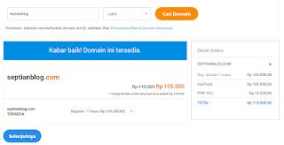 cara registrasi domain di niagahoster