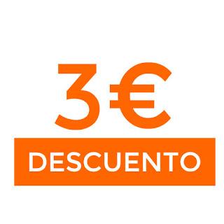 3€ dto en compras superiores a 10€ en AliExpress